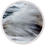 Powerful Round Beach Towel