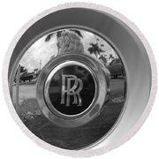R R Wheel Round Beach Towel