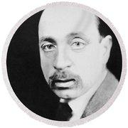 Rainer Maria Rilke Round Beach Towel