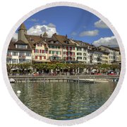 Rapperswil Round Beach Towel