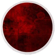 Redstone Round Beach Towel