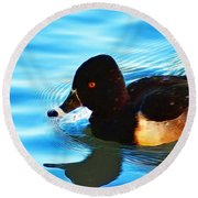 Ringbill Duck Round Beach Towel