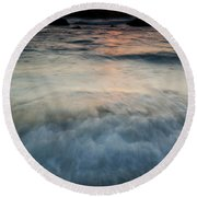 Rising Tide Round Beach Towel