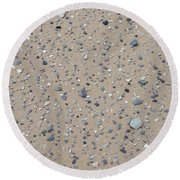 Rocks Sorted By The Wind Round Beach Towel