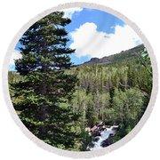 Rocky Mountain National Park2 Round Beach Towel