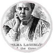 Selma Lagerlof (1858-1940) Round Beach Towel