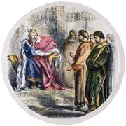 Shakespeare: King John Round Beach Towel