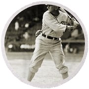 Shoeless Joe Jackson  (1889-1991) Round Beach Towel