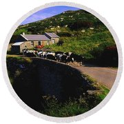 Slea Head, Dingle Peninsula, Co Kerry Round Beach Towel