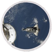 Space Shuttle Endeavour, A Russian Round Beach Towel