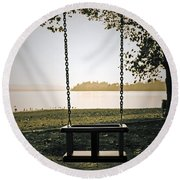 Swing Round Beach Towel