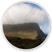 Table Mountain National Park Round Beach Towel by Fabrizio Troiani