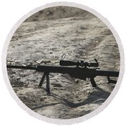 The Barrett M82a1 Sniper Rifle Round Beach Towel