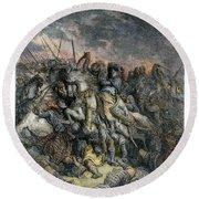 Third Crusade, 1191 Round Beach Towel