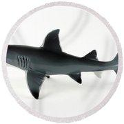Toy Shark Round Beach Towel