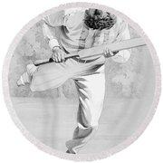William Gilbert Grace Round Beach Towel