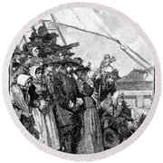 William Penn (1644-1718) Round Beach Towel
