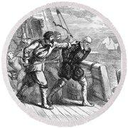 Henry Hudson (d. 1611) Round Beach Towel