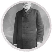 John C. Fremont (1813-1890) Round Beach Towel