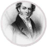 Martin Van Buren (1782-1862) Round Beach Towel