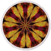 10 Minute Art 120611 Round Beach Towel