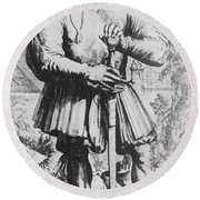 Paracelsus, Swiss Polymath Round Beach Towel by Science Source