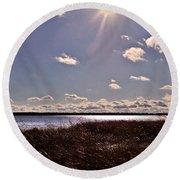 11 11 11 - 11 11 Round Beach Towel