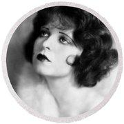 Clara Bow (1905-1965) Round Beach Towel