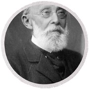 Rudolph Virchow, German Polymath Round Beach Towel by Science Source