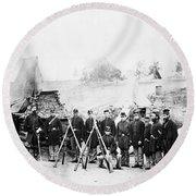 Civil War: Soldiers Round Beach Towel
