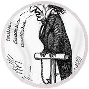 Andrew Johnson (1808-1875) Round Beach Towel