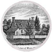 Henry Clay (1777-1852) Round Beach Towel