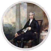 James Monroe (1758-1831) Round Beach Towel