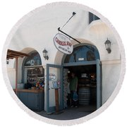 Old Town San Diego Round Beach Towel