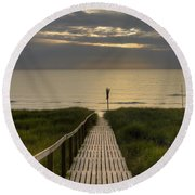 Sylt Round Beach Towel
