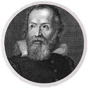 Galileo Galilei (1564-1642) Round Beach Towel