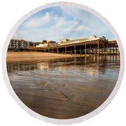 Hastings Pier Round Beach Towel