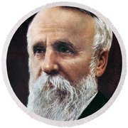 Rutherford B. Hayes Round Beach Towel