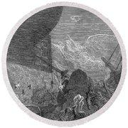 Coleridge: Ancient Mariner Round Beach Towel