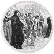 Shakespeare: Richard IIi Round Beach Towel