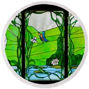 House On The Rock Round Beach Towel