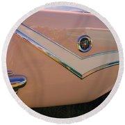 1929 Desoto Firefly Convertable Round Beach Towel