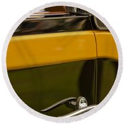1931 Chrysler Cg Imperial Waterhouse Convertible Victoria Door Handle Round Beach Towel