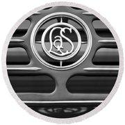 1932 Cadillac Lasalle Emblem 2 Round Beach Towel