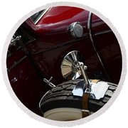 1932 Chevrolet Detail Round Beach Towel