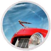 1935 Auburn Speedster  6892 Round Beach Towel