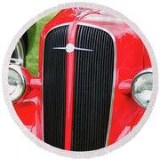 1936 Chevy  8552 Round Beach Towel