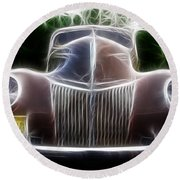 1939 Ford Deluxe Round Beach Towel