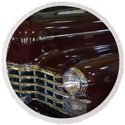 1948 Cadillac - Series 75 Limousine Round Beach Towel