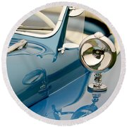 1948 Lloyd Templeton Mercury Saturn Bob Hope Roadster Round Beach Towel